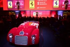 Throaty Engines Roar As Ferrari Shares Make Milan Debut